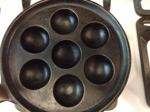 An Æbleskiver pan.