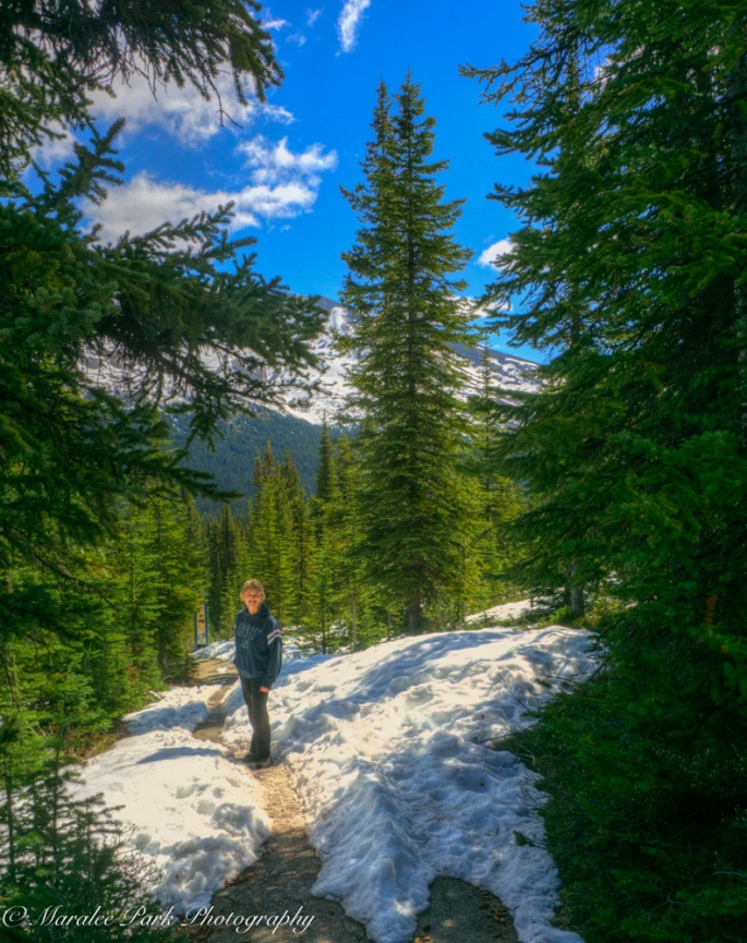 Me on the trail.