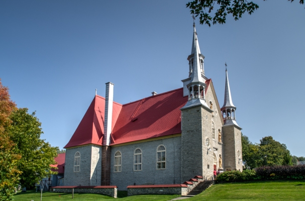 One of the many churches on the island.