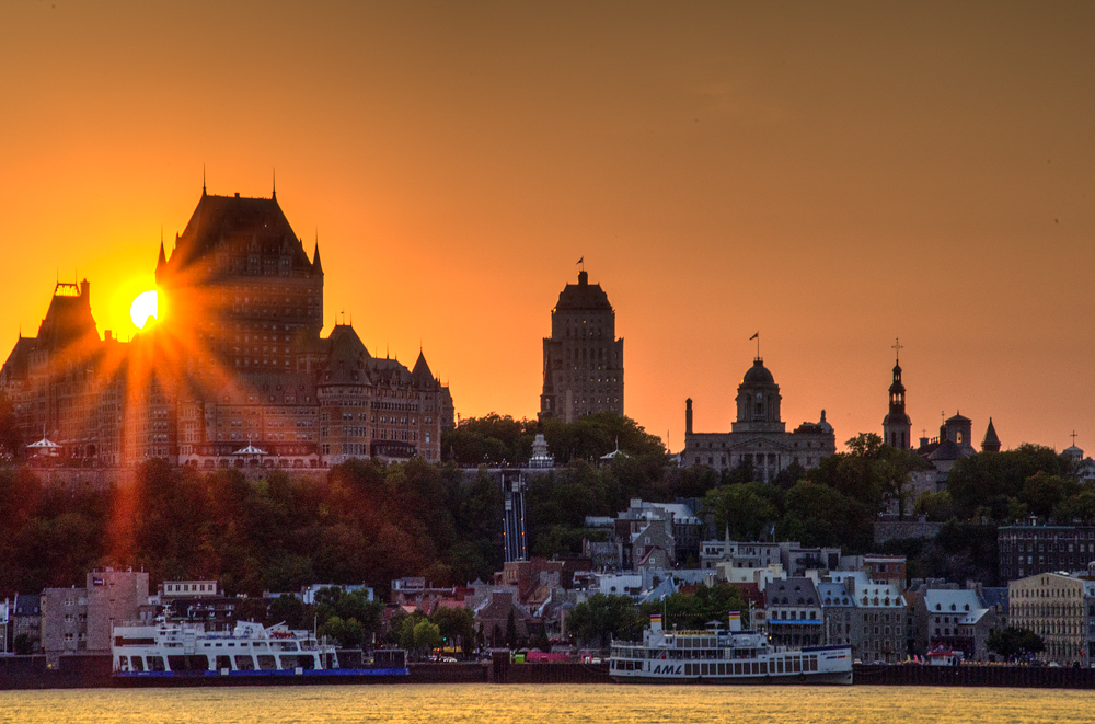 Quebec City Skyline from Levis