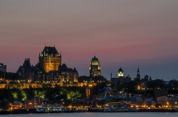 Quebec City Lights
