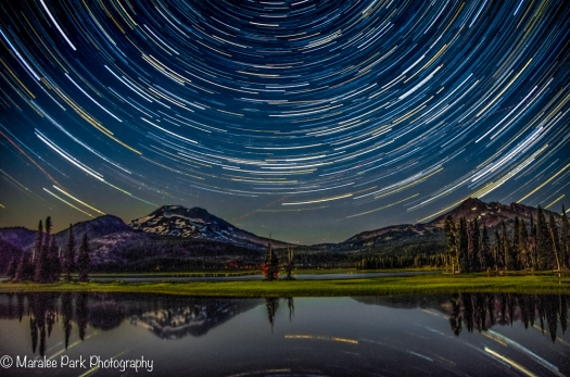 Star Trails at Sparks Lake