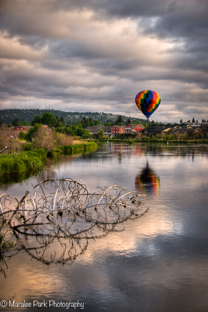Balloons over the Deschutes River