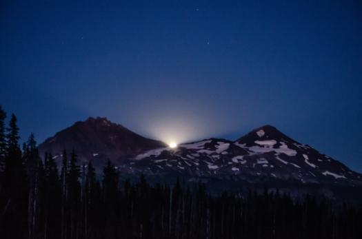A little more moon