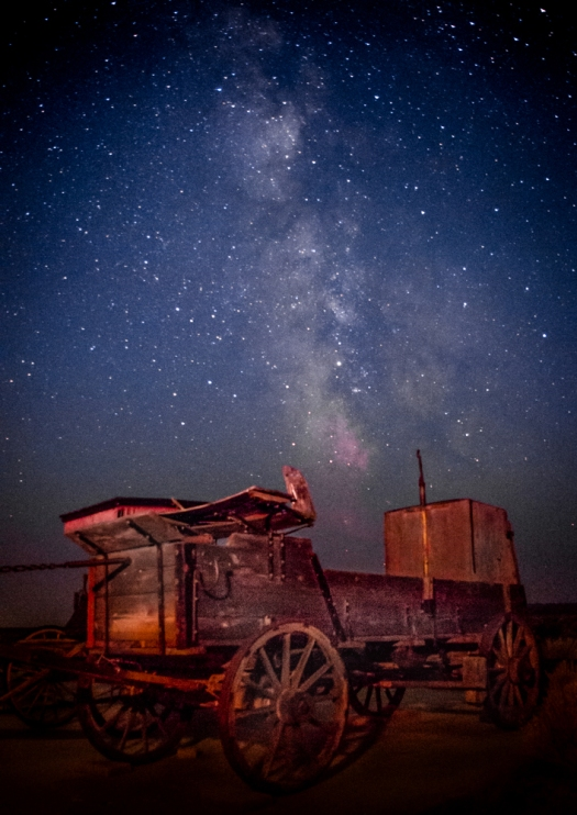Old Wagon and the Milky Way