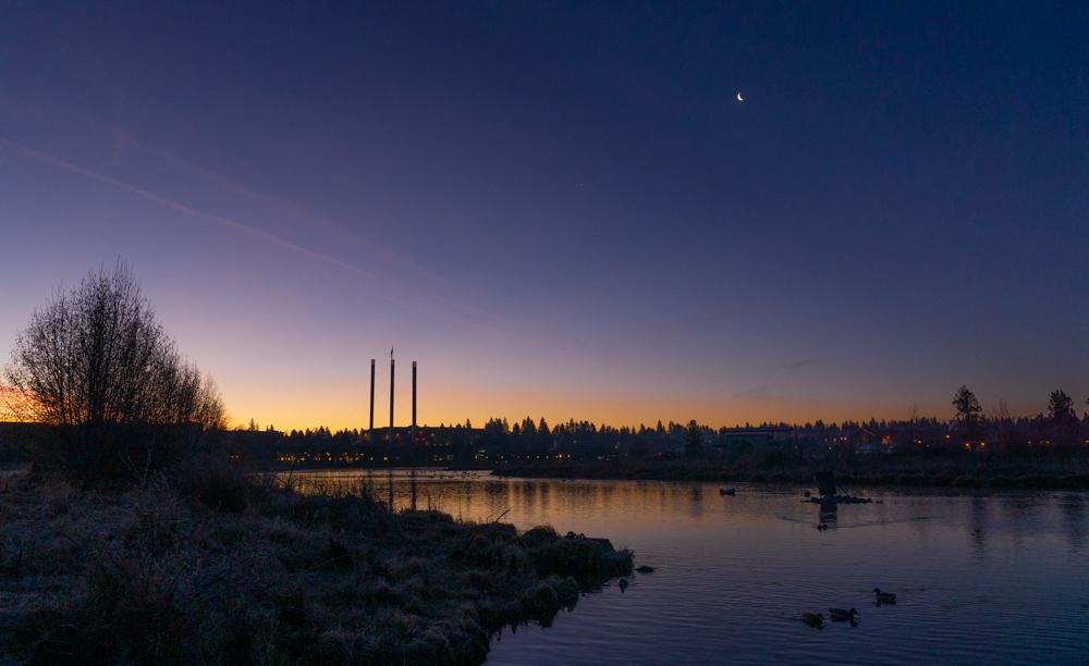 Dawn on the Deschutes River